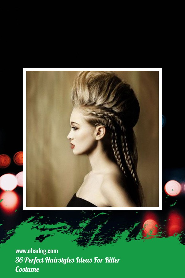 36 Perfect Hairstyles Ideas For Killer Costume 1