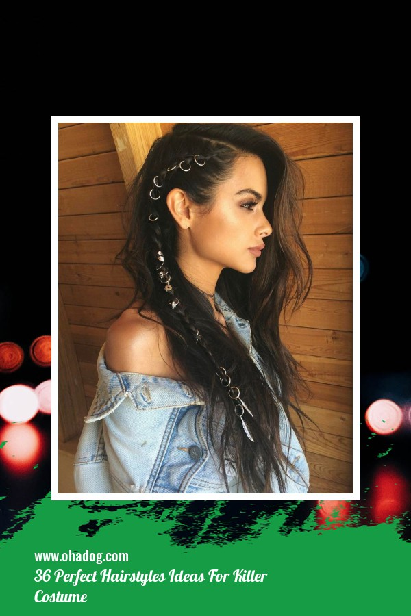 36 Perfect Hairstyles Ideas For Killer Costume 18