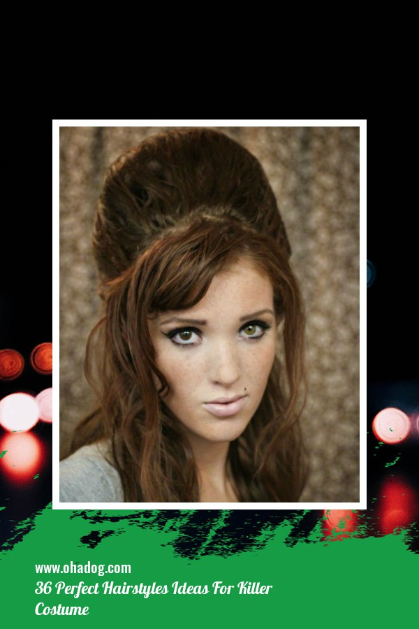 36 Perfect Hairstyles Ideas For Killer Costume 26