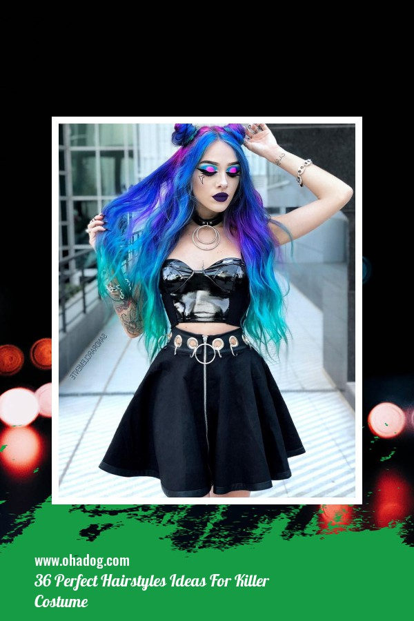 36 Perfect Hairstyles Ideas For Killer Costume 27