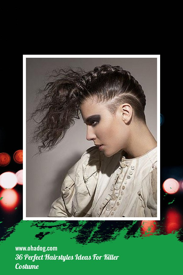 36 Perfect Hairstyles Ideas For Killer Costume 28