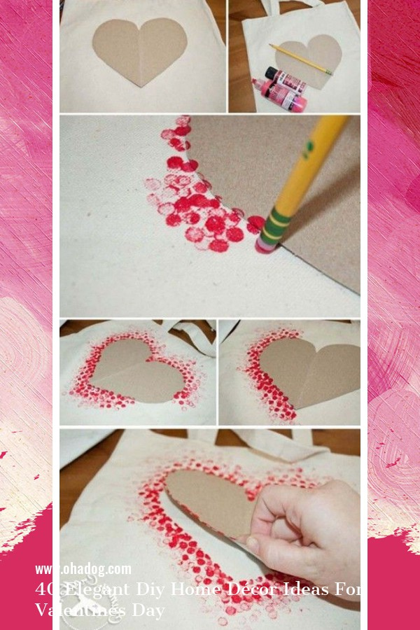 40 Elegant Diy Home Décor Ideas For Valentines Day 1