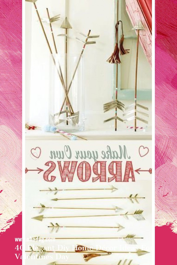 40 Elegant Diy Home Décor Ideas For Valentines Day 30