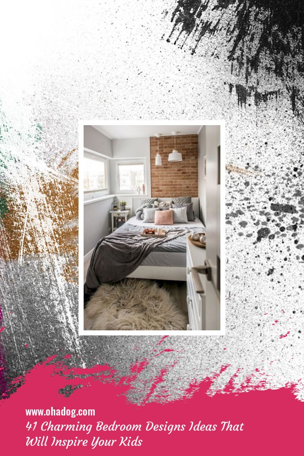 41 Charming Bedroom Designs Ideas That Will Inspire Your Kids 1