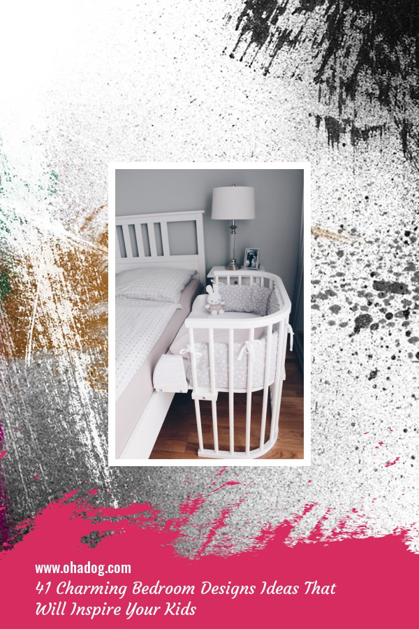 41 Charming Bedroom Designs Ideas That Will Inspire Your Kids 31