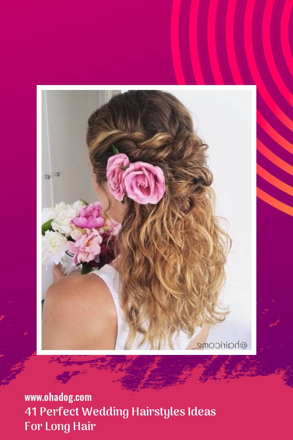 41 Perfect Wedding Hairstyles Ideas For Long Hair 1
