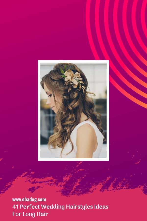 41 Perfect Wedding Hairstyles Ideas For Long Hair 36