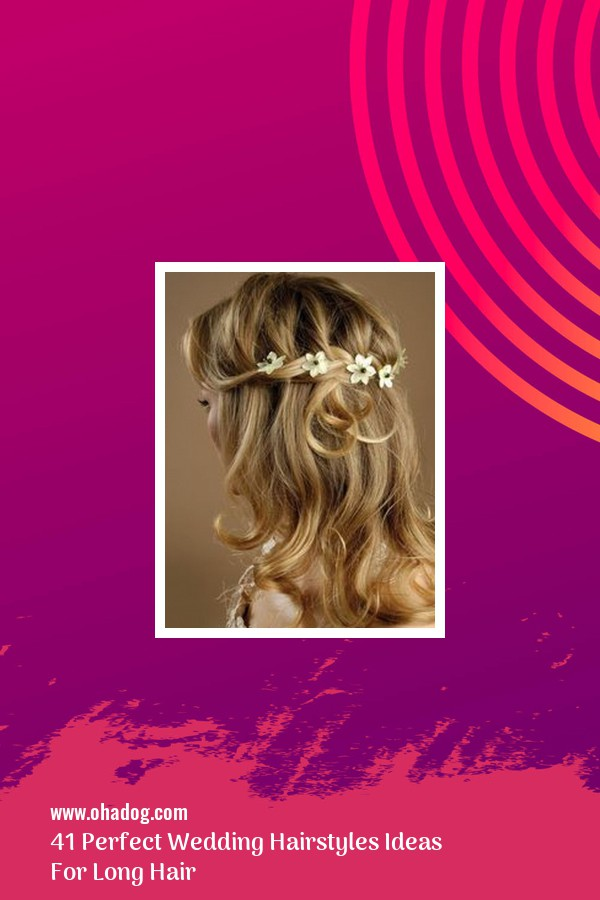 41 Perfect Wedding Hairstyles Ideas For Long Hair 9