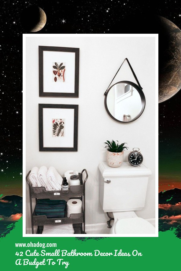 42 Cute Small Bathroom Decor Ideas On A Budget To Try 1