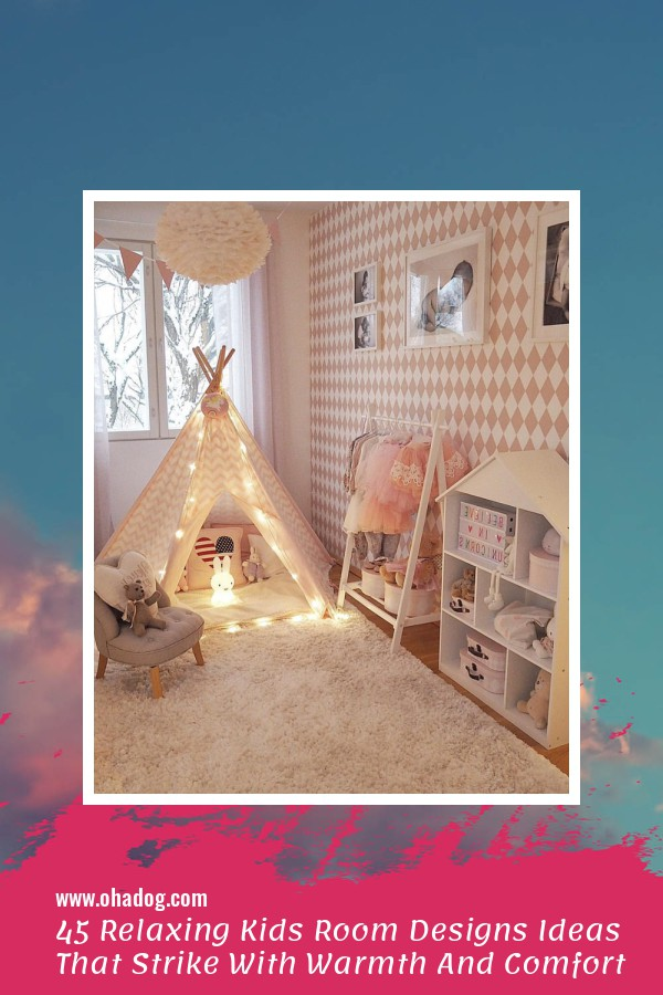 45 Relaxing Kids Room Designs Ideas That Strike With Warmth And Comfort 1