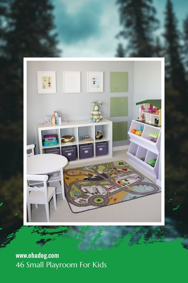 46 Small Playroom For Kids 21