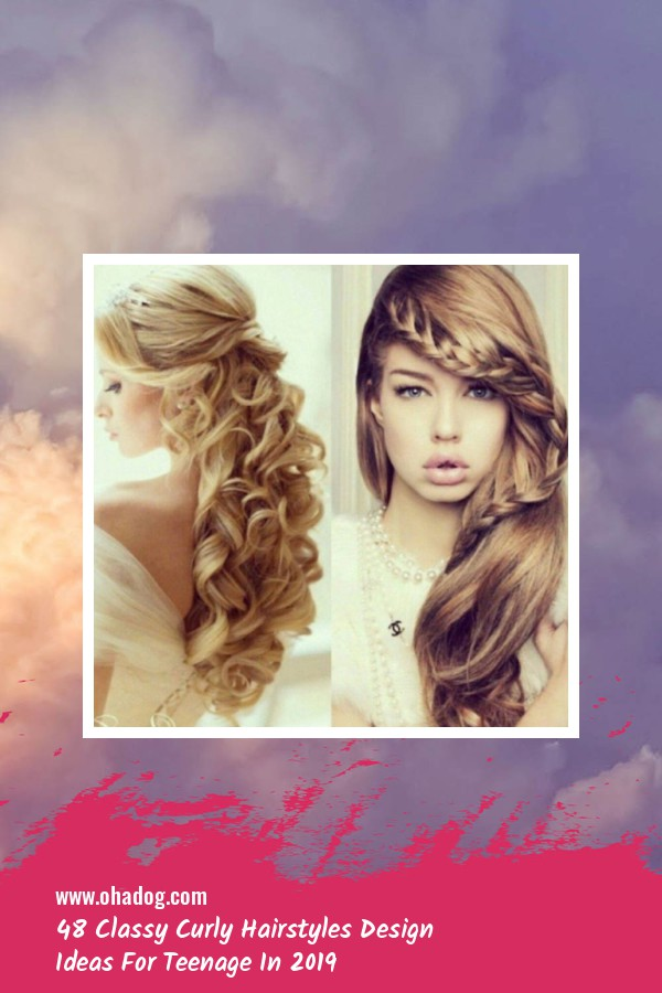 48 Classy Curly Hairstyles Design Ideas For Teenage In 2019 11