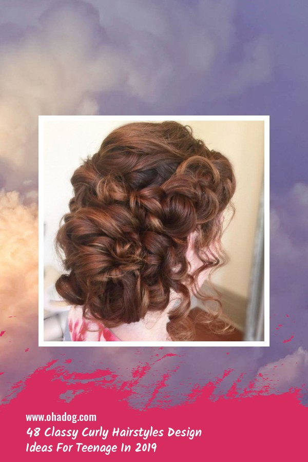 48 Classy Curly Hairstyles Design Ideas For Teenage In 2019 2