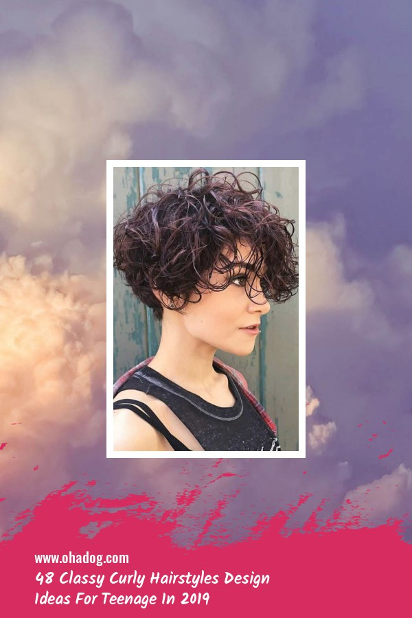 48 Classy Curly Hairstyles Design Ideas For Teenage In 2019 20