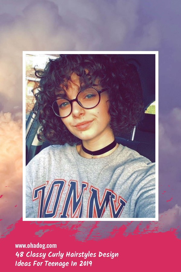 48 Classy Curly Hairstyles Design Ideas For Teenage In 2019 27