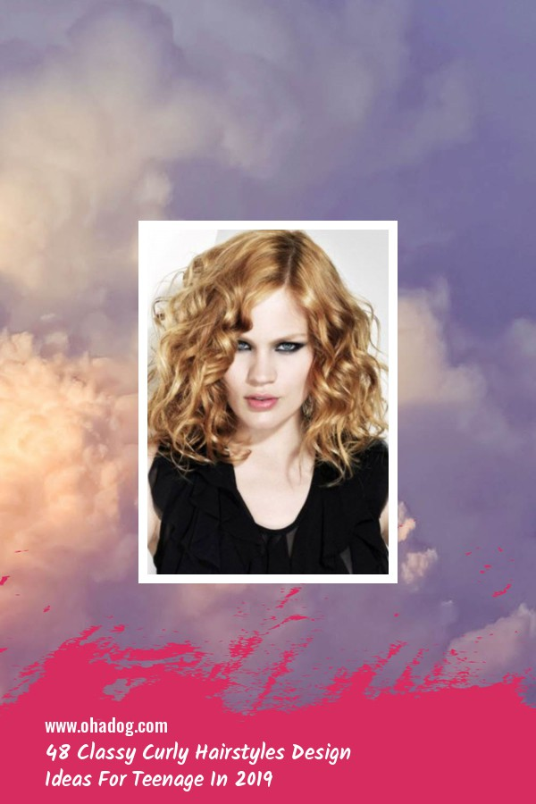 48 Classy Curly Hairstyles Design Ideas For Teenage In 2019 33