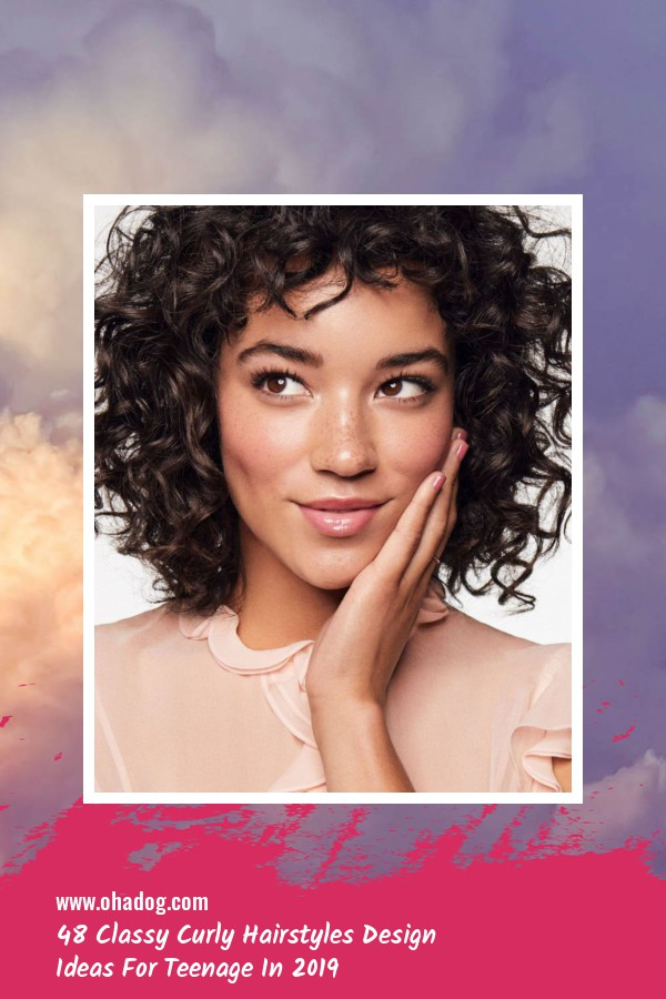 48 Classy Curly Hairstyles Design Ideas For Teenage In 2019 4