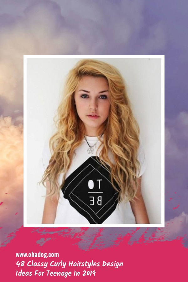 48 Classy Curly Hairstyles Design Ideas For Teenage In 2019 40