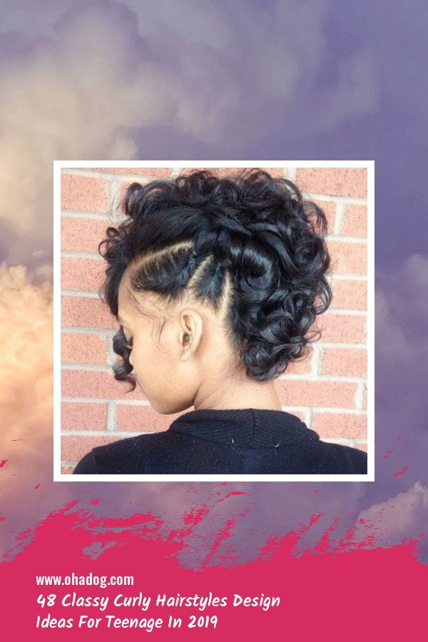 48 Classy Curly Hairstyles Design Ideas For Teenage In 2019 43